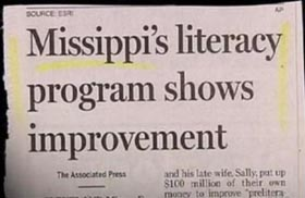 Missippi's literacy program shows improvement